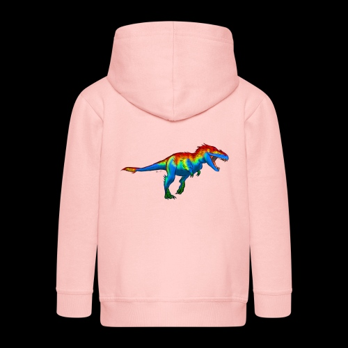 T-Rex - Kids' Premium Zip Hoodie