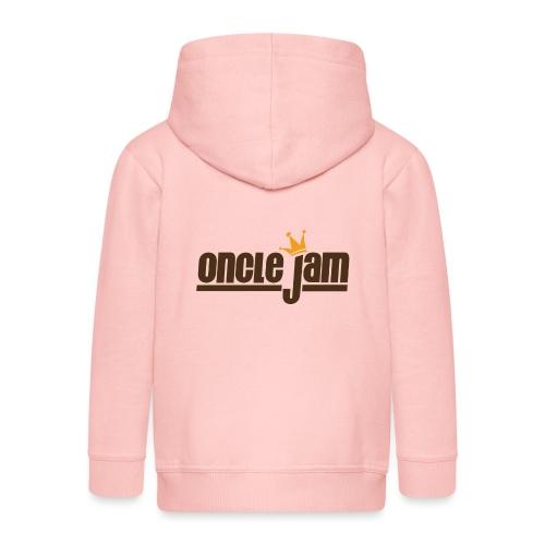 Oncle Jam horizontal brun - Veste à capuche Premium Enfant