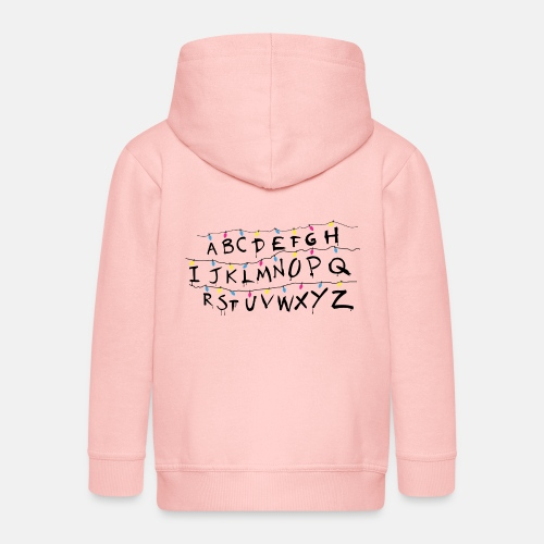 Stranger Things Alphabet Women's T-Shirts - Kids' Premium Zip Hoodie