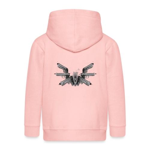 guns wings.png - Veste à capuche Premium Enfant