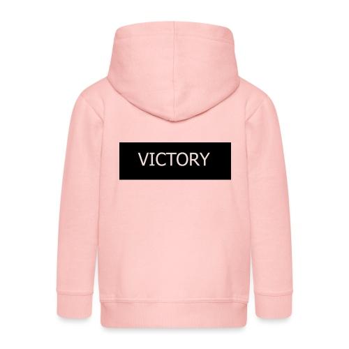 VICTORY - Kids' Premium Zip Hoodie