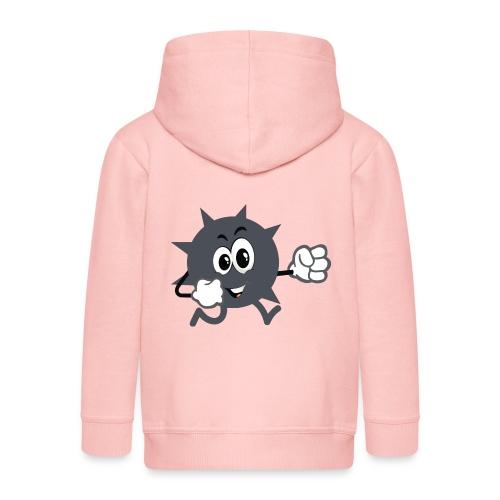 Logo démineur - Veste à capuche Premium Enfant