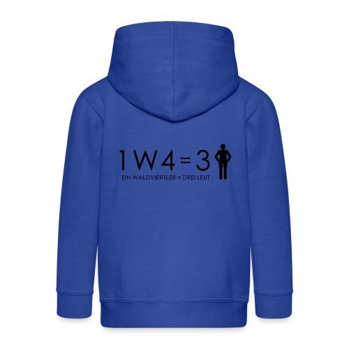 1W4 3L - Kinder Premium Kapuzenjacke