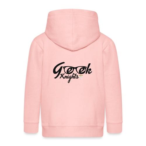 T-shirt-Geek-Knights - Kids' Premium Zip Hoodie