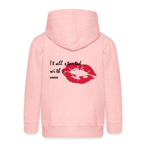 BELOVED_KISS - Kinderen Premium jas met capuchon
