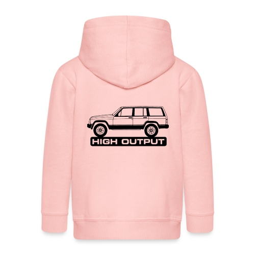 jeepxj02bblack - Premium Barne-hettejakke