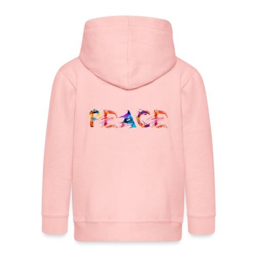 Peace - Veste à capuche Premium Enfant