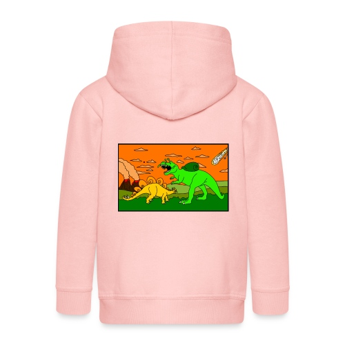 Schneckosaurier von dodocomics - Kinder Premium Kapuzenjacke