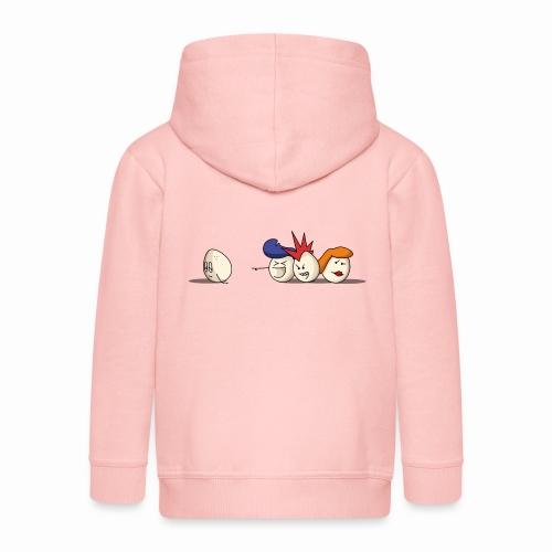Bald Eggs - Veste à capuche Premium Enfant