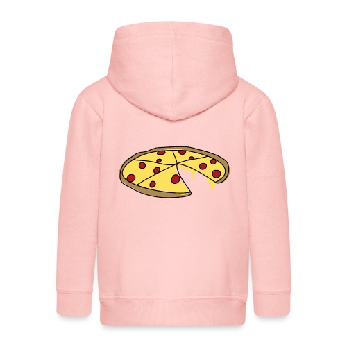 Pizza_V1_gross - Kinder Premium Kapuzenjacke
