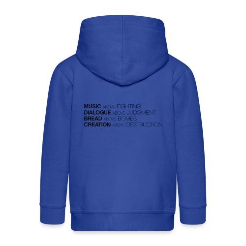 slogan png - Kinderen Premium jas met capuchon