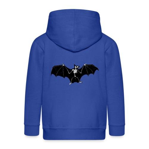 Bat skeleton #1 - Kids' Premium Zip Hoodie