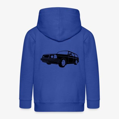 Volle 245 Estate - Kids' Premium Zip Hoodie