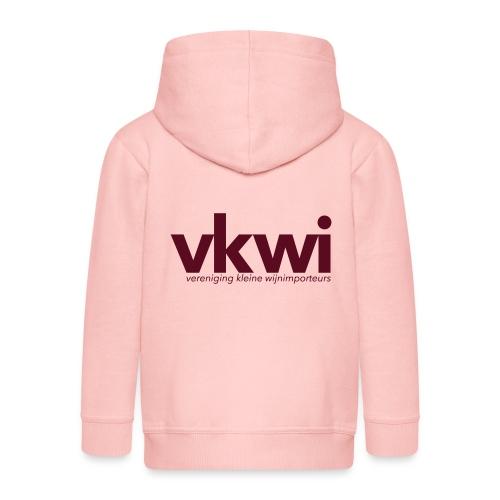 vkwi1 - Kinderen Premium jas met capuchon