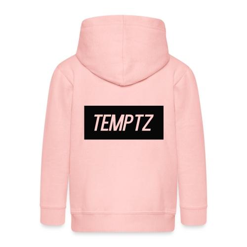 TempTz Orignial Hoodie Design - Kids' Premium Zip Hoodie