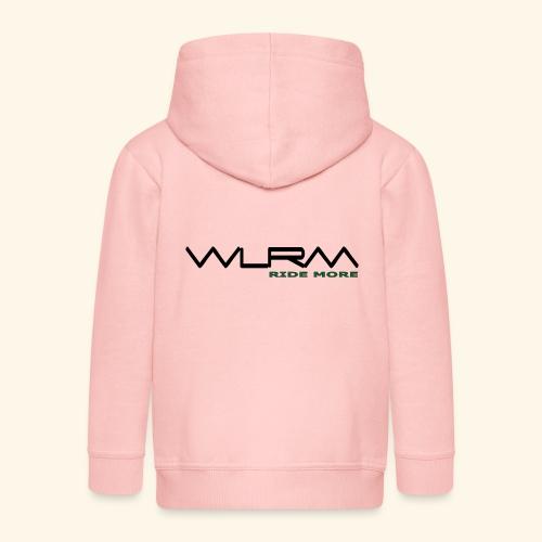 WLRM Schriftzug black png - Kinder Premium Kapuzenjacke