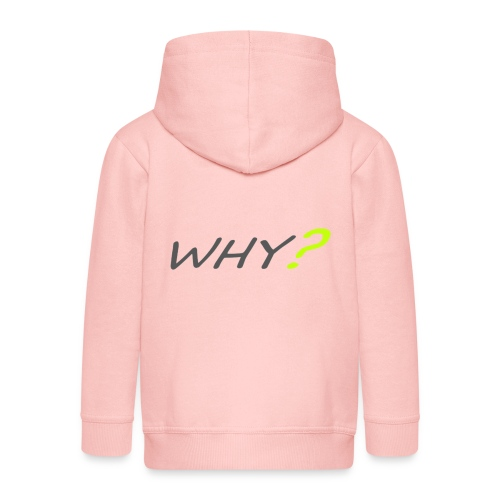 WHY? - Premium-Luvjacka barn