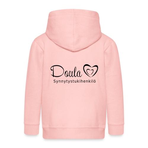 doula sydämet synnytystukihenkilö - Lasten premium hupparitakki
