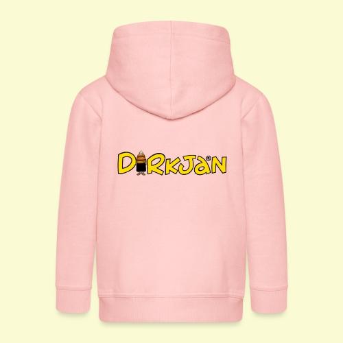 DIRKJAN Logo - Kinderen Premium jas met capuchon