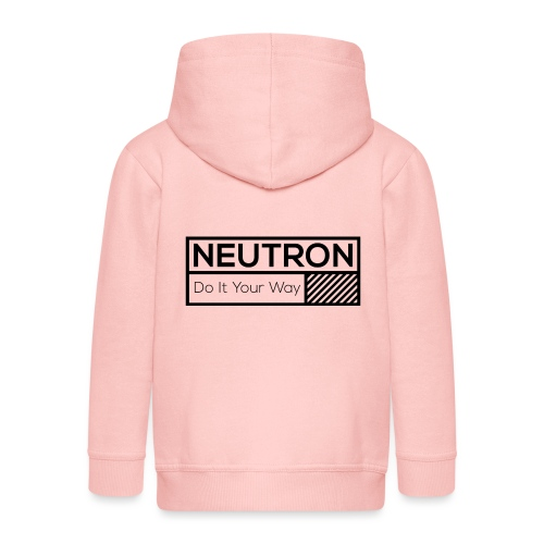 Neutron Vintage-Label - Kinder Premium Kapuzenjacke