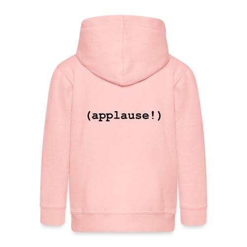 applause - Kids' Premium Zip Hoodie