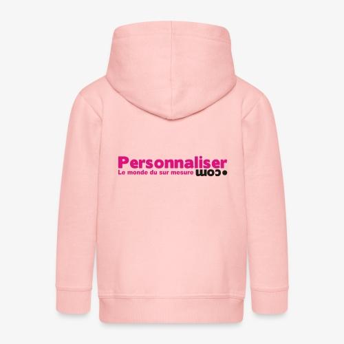 logo personnaliser - Veste à capuche Premium Enfant
