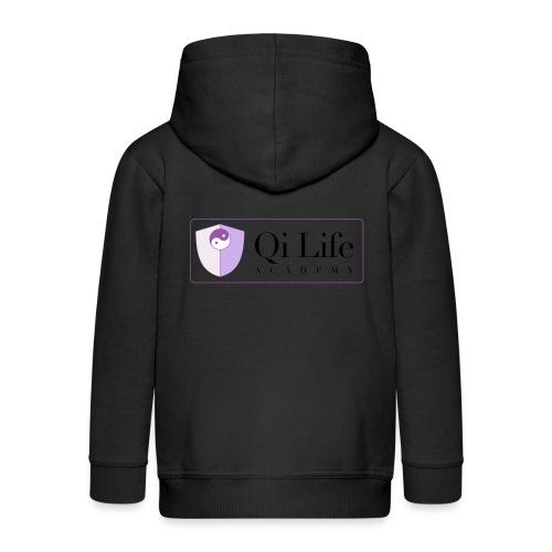 Qi Life Academy Promo Gear - Kids' Premium Zip Hoodie