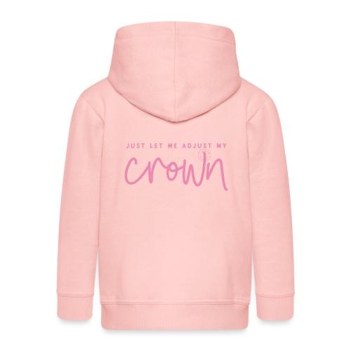 Crown pink - Premium-Luvjacka barn