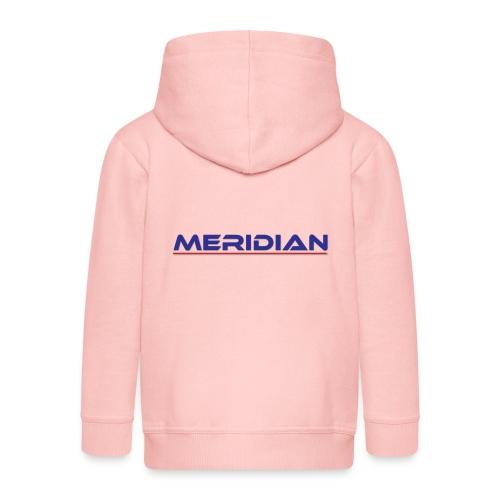 Meridian - Felpa con zip Premium per bambini