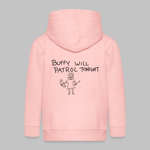 buffy's patrol - Kids' Premium Zip Hoodie