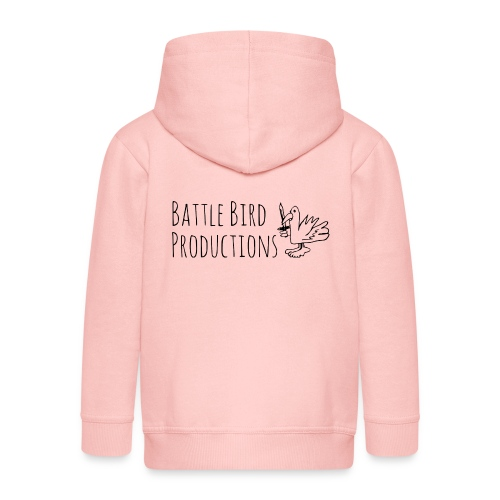 Battle Bird Logo - Kids' Premium Zip Hoodie