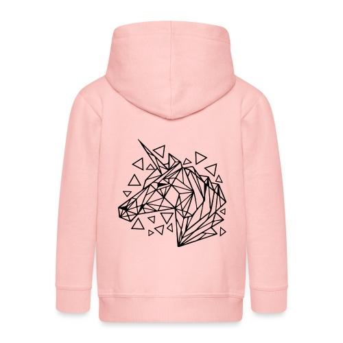 unicornio minimalista - Chaqueta con capucha premium niño