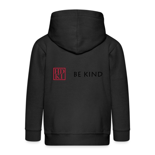 HDKI Be Kind - Kids' Premium Zip Hoodie