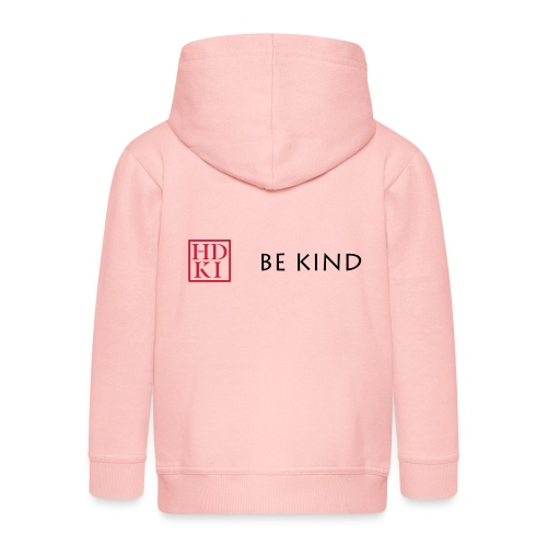 HDKI Be Kind - Kids' Premium Hooded Jacket