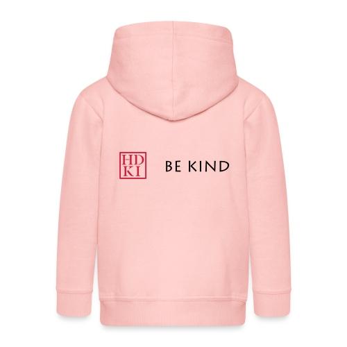 HDKI Be Kind - Kids' Premium Zip Hoodie