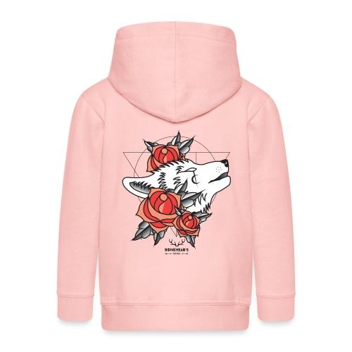 Wolfhead - Kids' Premium Hooded Jacket