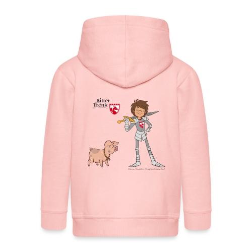 Ritter Trenk Bio-T-Shirt für Kinder - Kinder Premium Kapuzenjacke