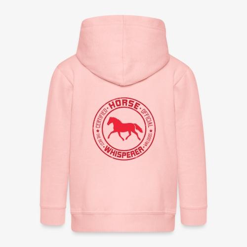 Horse Whisperer Red - Lasten premium hupparitakki