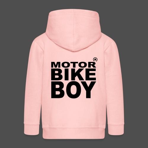 Motorbike Boy - Kids' Premium Zip Hoodie