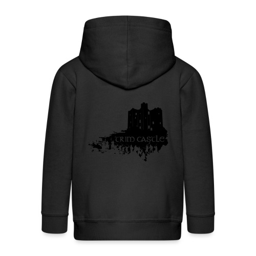 Legend_-_Trim_Castle - Kids' Premium Zip Hoodie