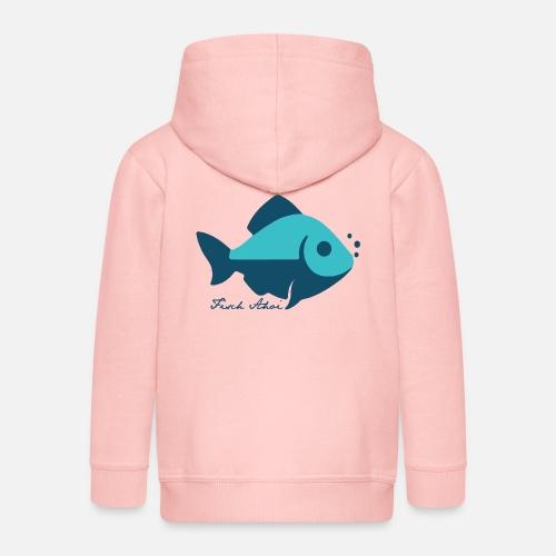 Fisch Ahoi - Kinder Premium Kapuzenjacke
