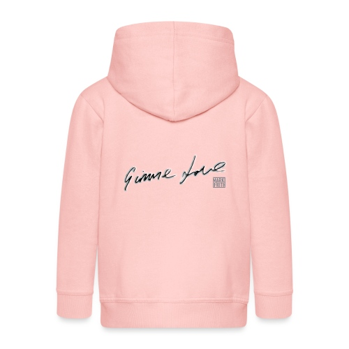 GIMME LOVE range - Kids' Premium Hooded Jacket