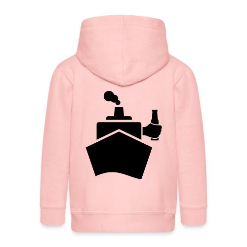 King of the boat - Kinder Premium Kapuzenjacke