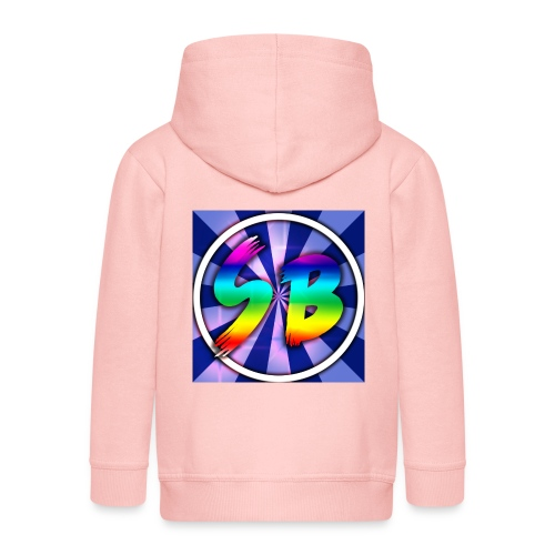 ScooterBros On Yt This Is Our Merch - Kids' Premium Zip Hoodie