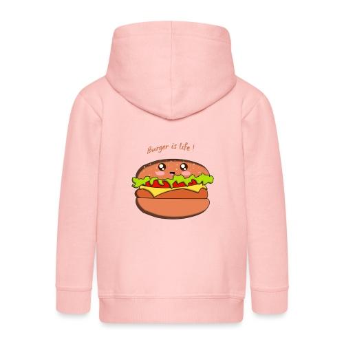hamburger - Veste à capuche Premium Enfant