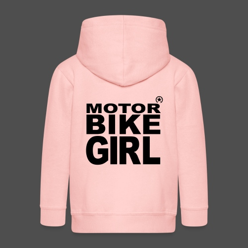 Motorbike Girl - Kinder Premium Kapuzenjacke