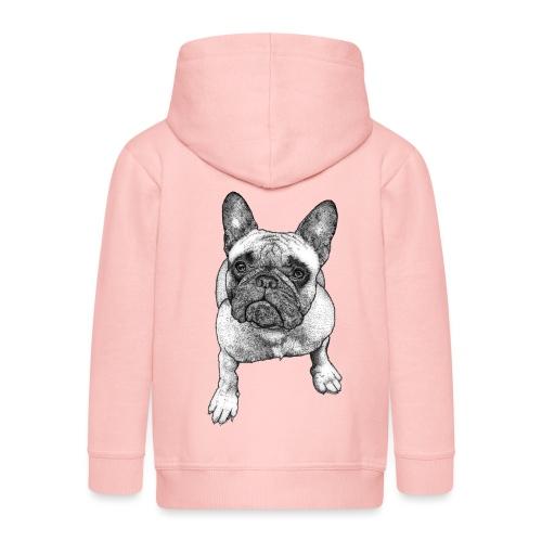 French Bulldog - Veste à capuche Premium Enfant