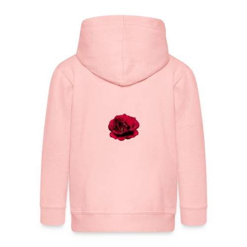 Rose - Kinder Premium Kapuzenjacke