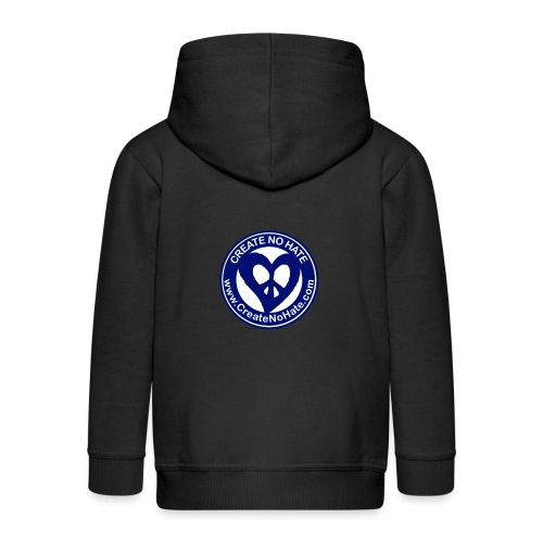 THIS IS THE BLUE CNH LOGO - Kids' Premium Zip Hoodie
