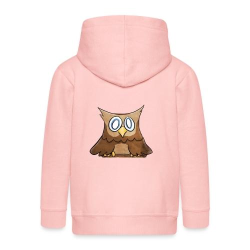 Owl - Kinderen Premium jas met capuchon